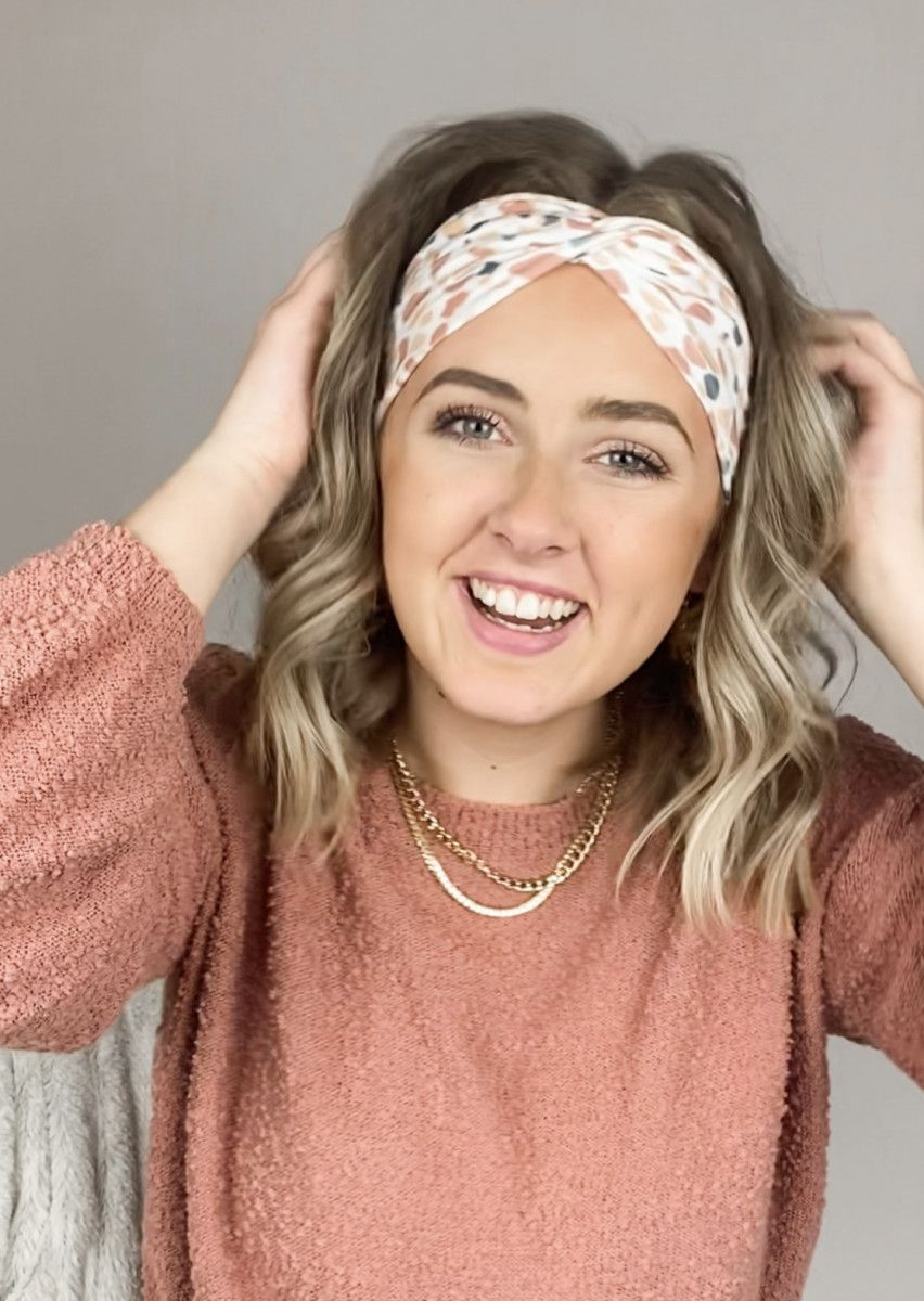 How to wear Lilac Market Headbands