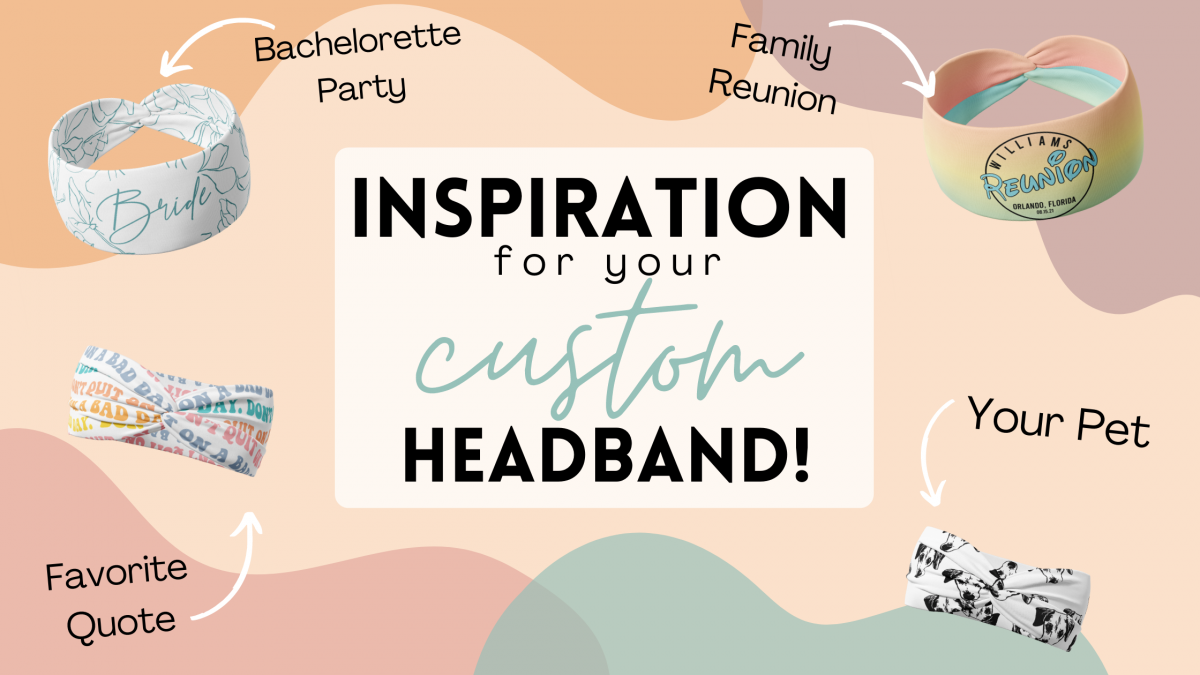 Custom Headbands are the Perfect New Swag