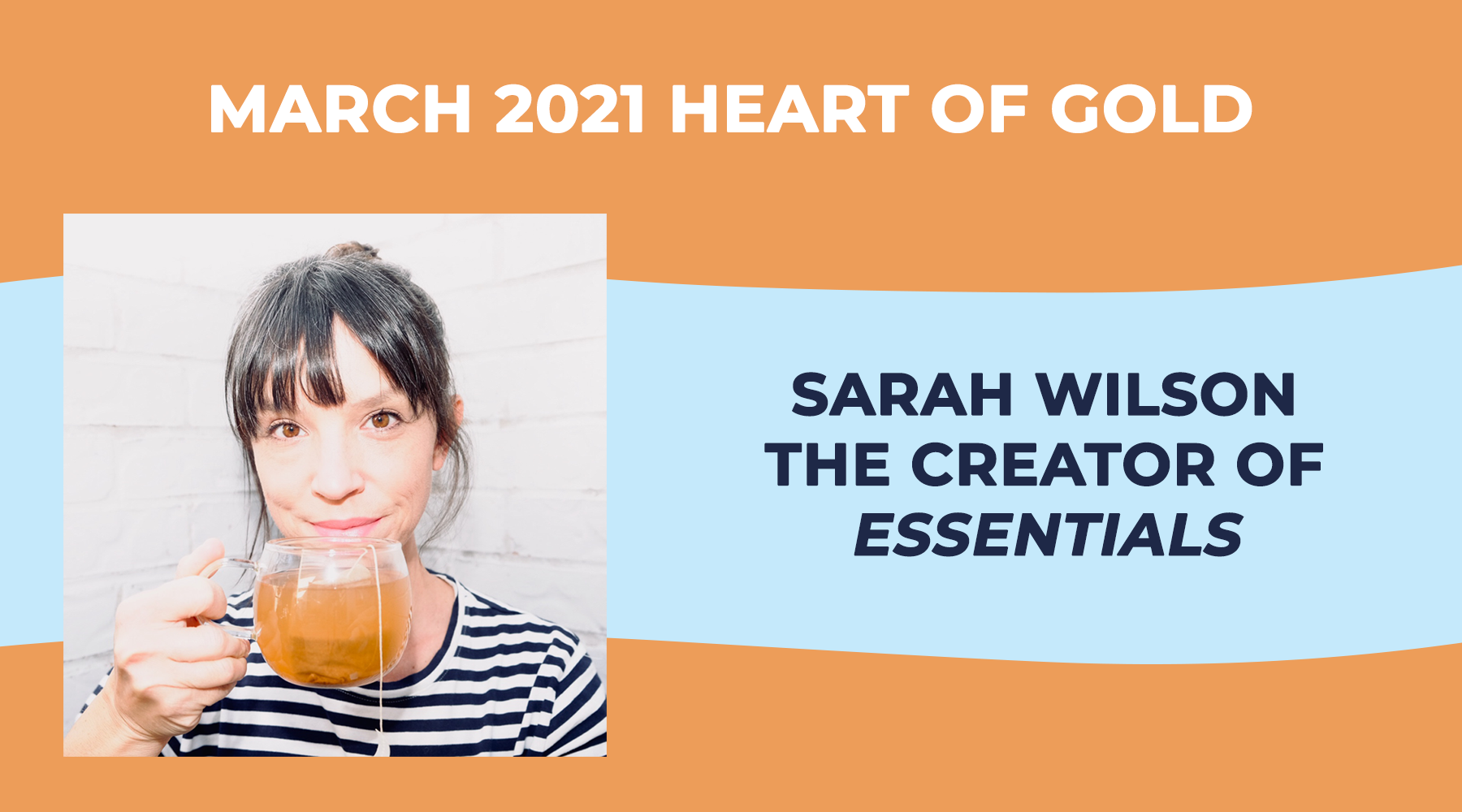 Heart of Gold: Sarah Wilson