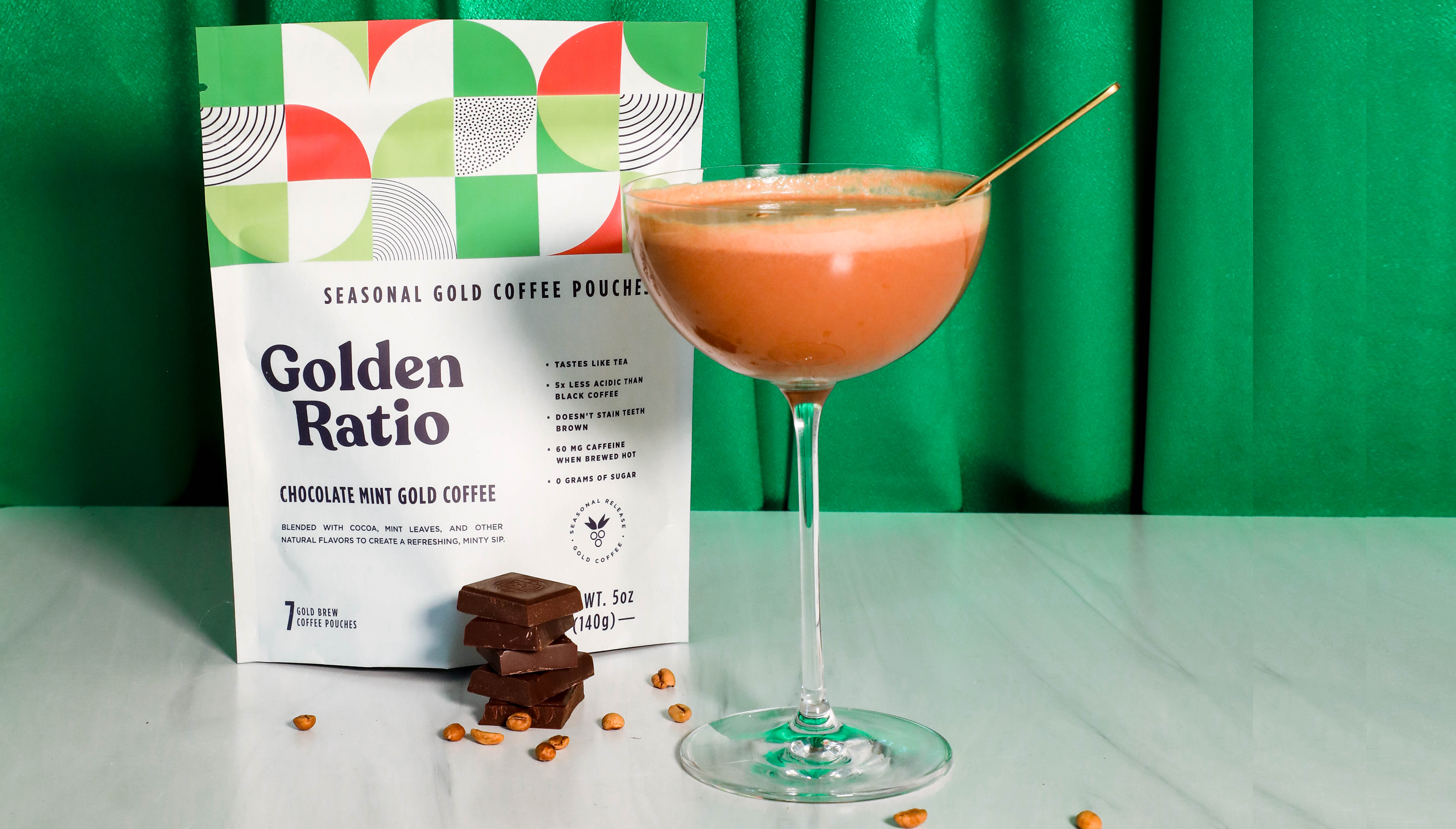 12 Days of Coffee: Golden Chocolate Martini