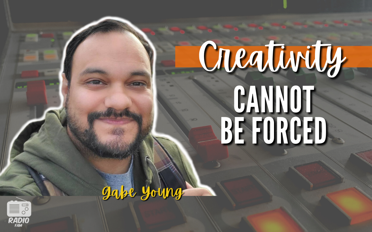 Creativity Cannot Be Forced