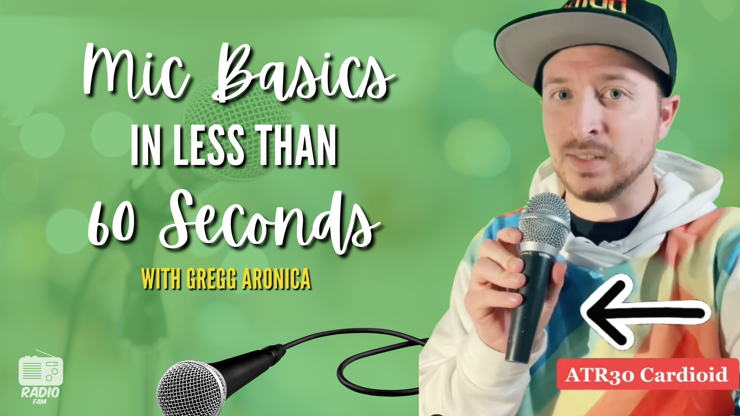 Microphone Basics in Less Than 60 Seconds
