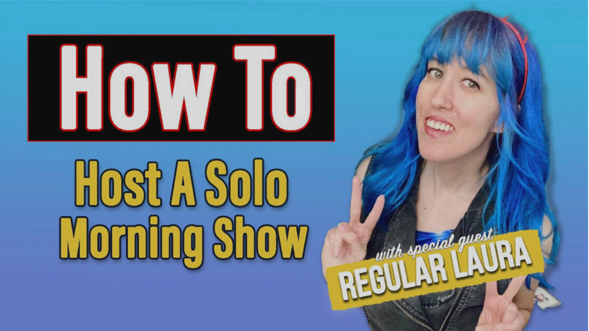 How to Host a Solo Morning Show