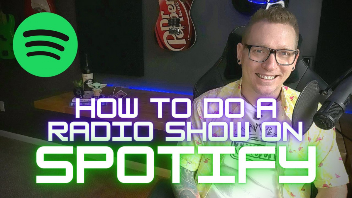 How To Do A Radio Show On Spotify