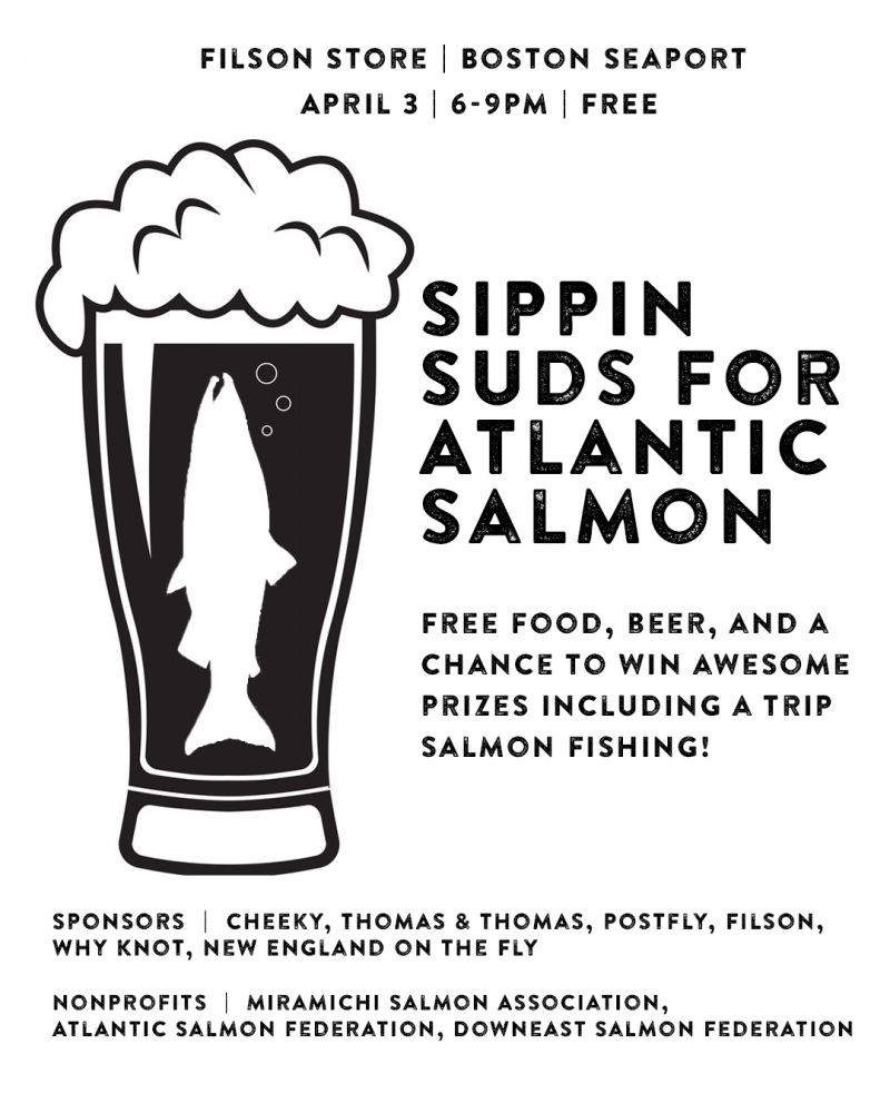 Sippin Suds For Atlantic Salmon