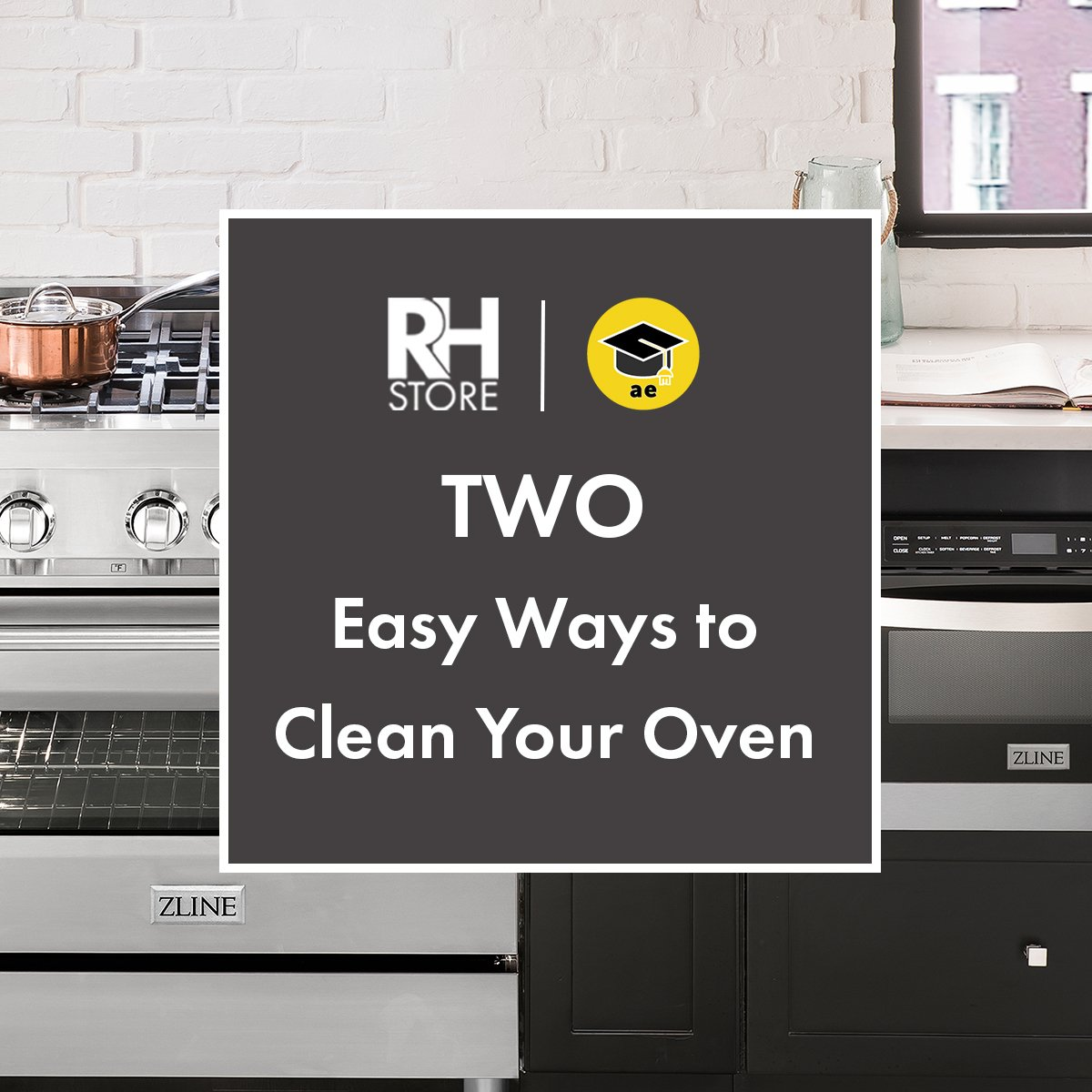 Two Easy Ways to Clean Your Oven - The Range Hood Store & Appliance Educator