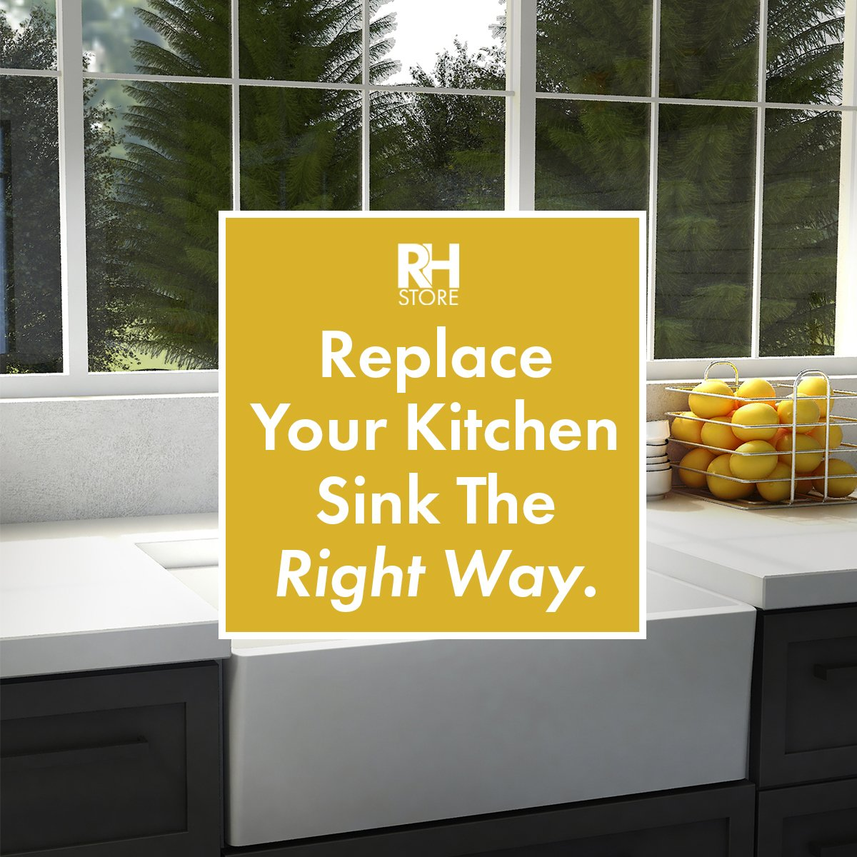 Replace Your Kitchen Sink The Right Way.