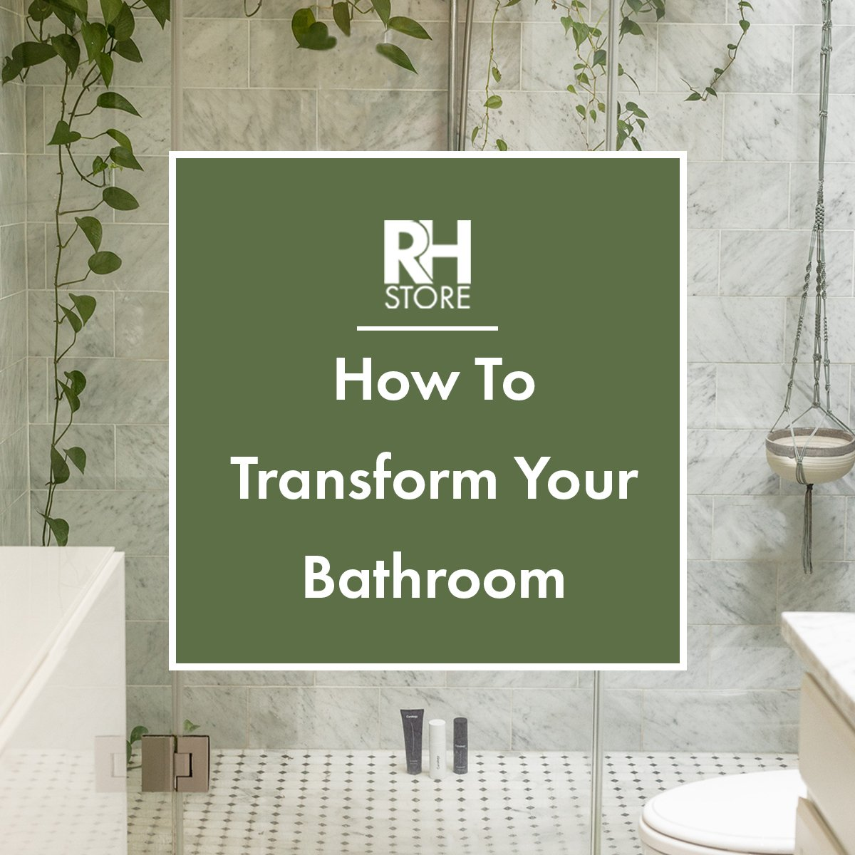 How To Transform Your Bathroom - 5 Tips
