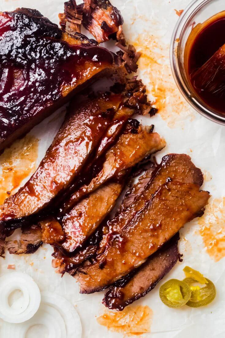 Bourbon Bacon BBQ Brisket