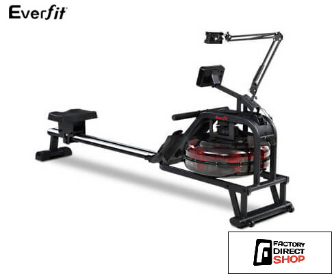 Water Rowing Machines Home Gym Equipment-Everfit