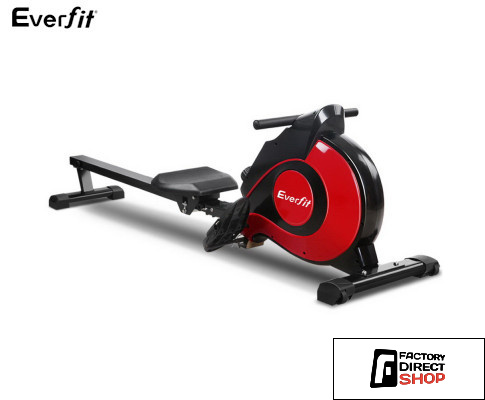 Factory Direct Shop Rowing Machine Magnetic Flywheel 10 x Levels-Everfit