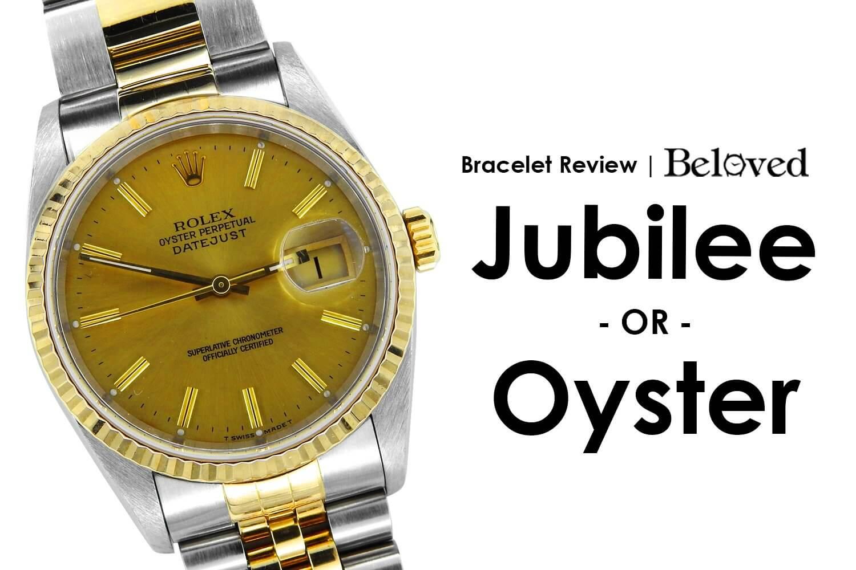 Rolex Bracelet Guide | Jubilee vs Oyster