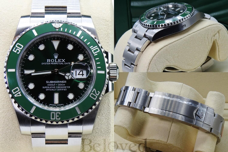 "The Modern Collector | Rolex Submariner Date ""Hulk"" 116610LV"