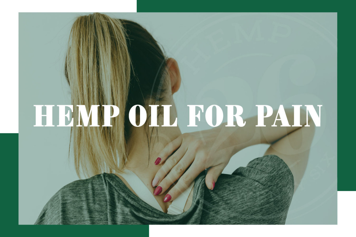 Hemp Oil For General Pain, Chronic Pain Or Everyday Pain
