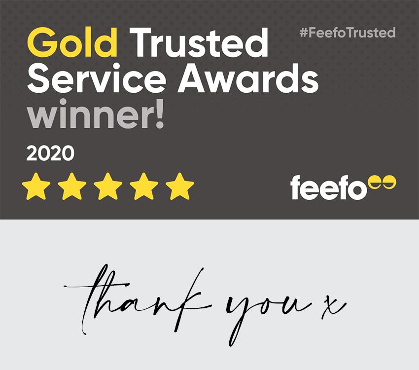 Customer Service Gold Award