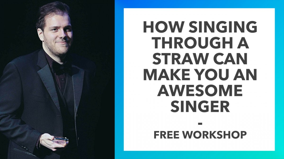 How Singing Through A Straw Can Make You An Awesome Singer