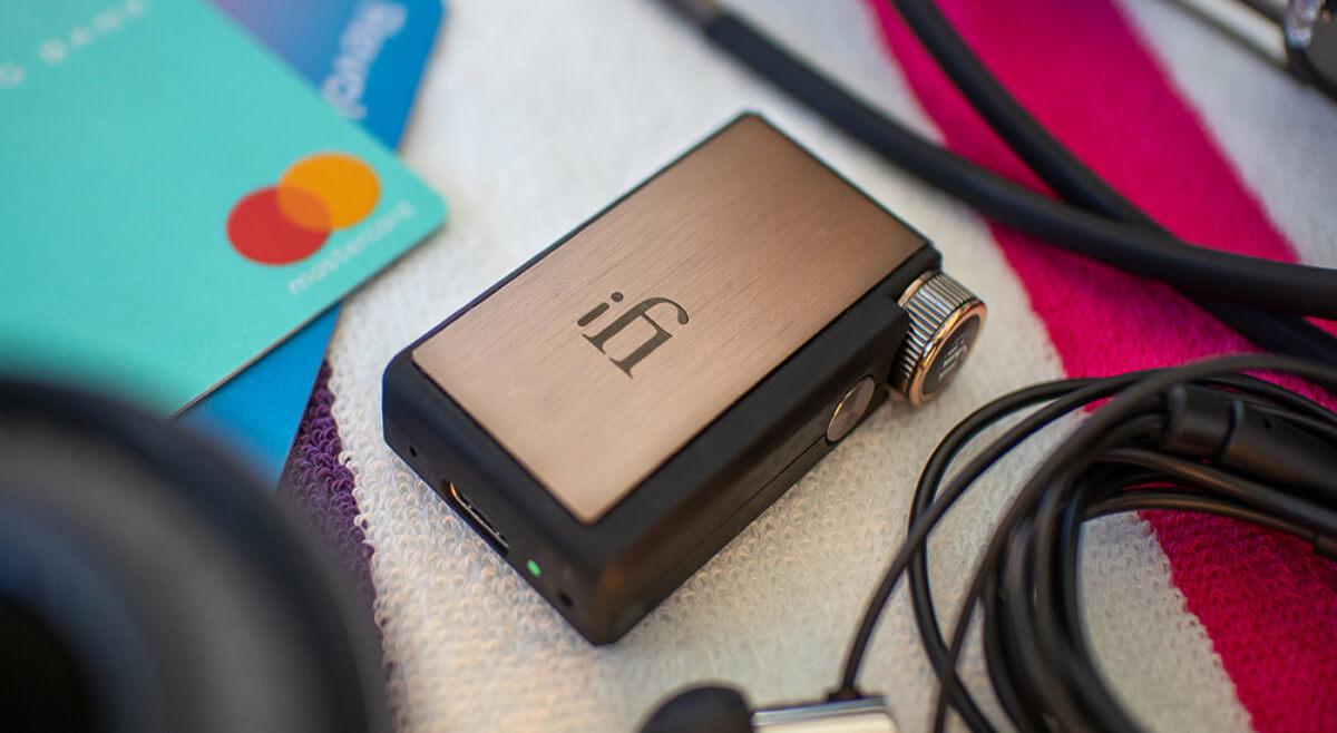 iFi Audio GO Blu - New Portable Bluetooth DAC & Headphone Amp from iFI Audio
