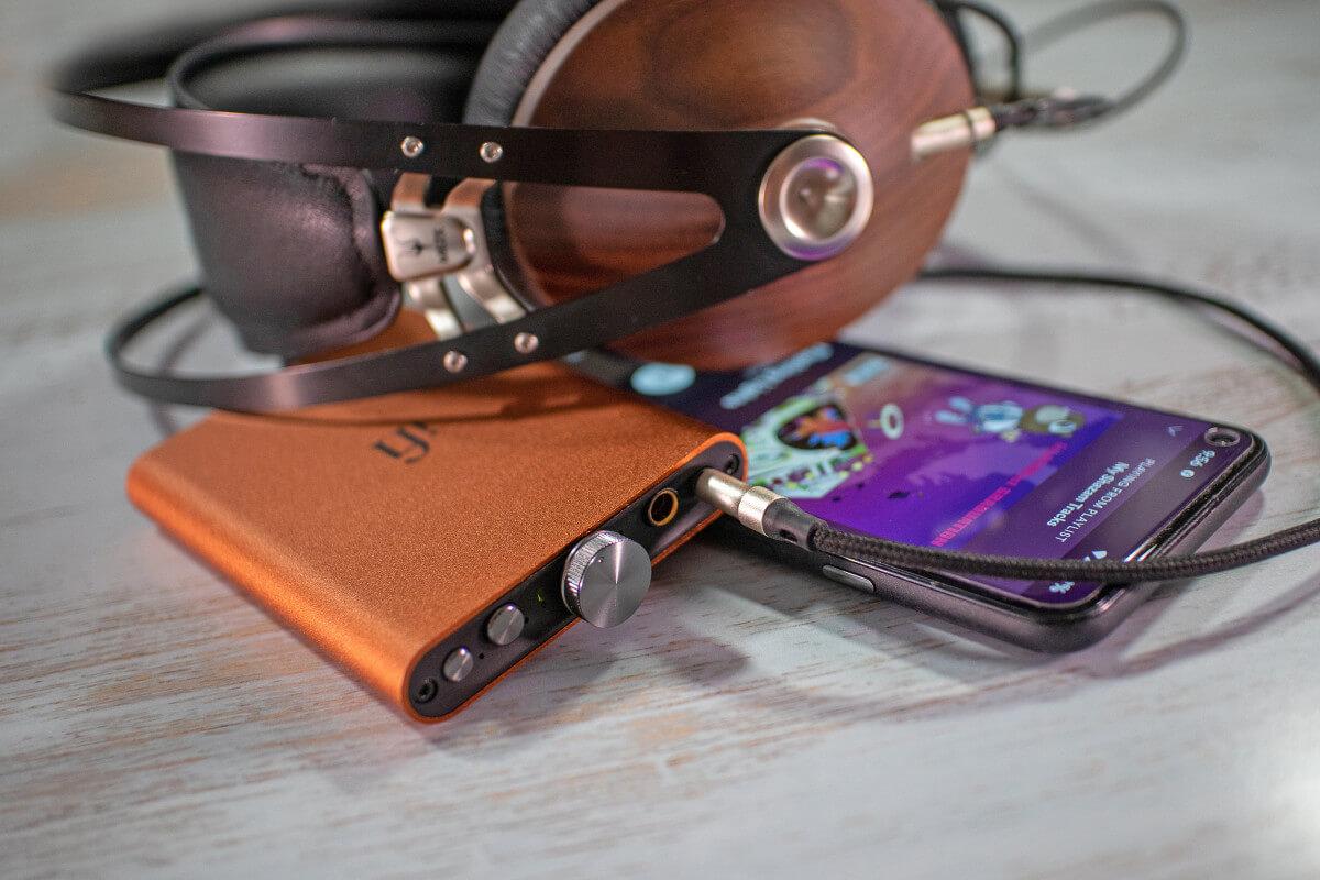iFi Audio Hip DAC V2 Sunburst Orange