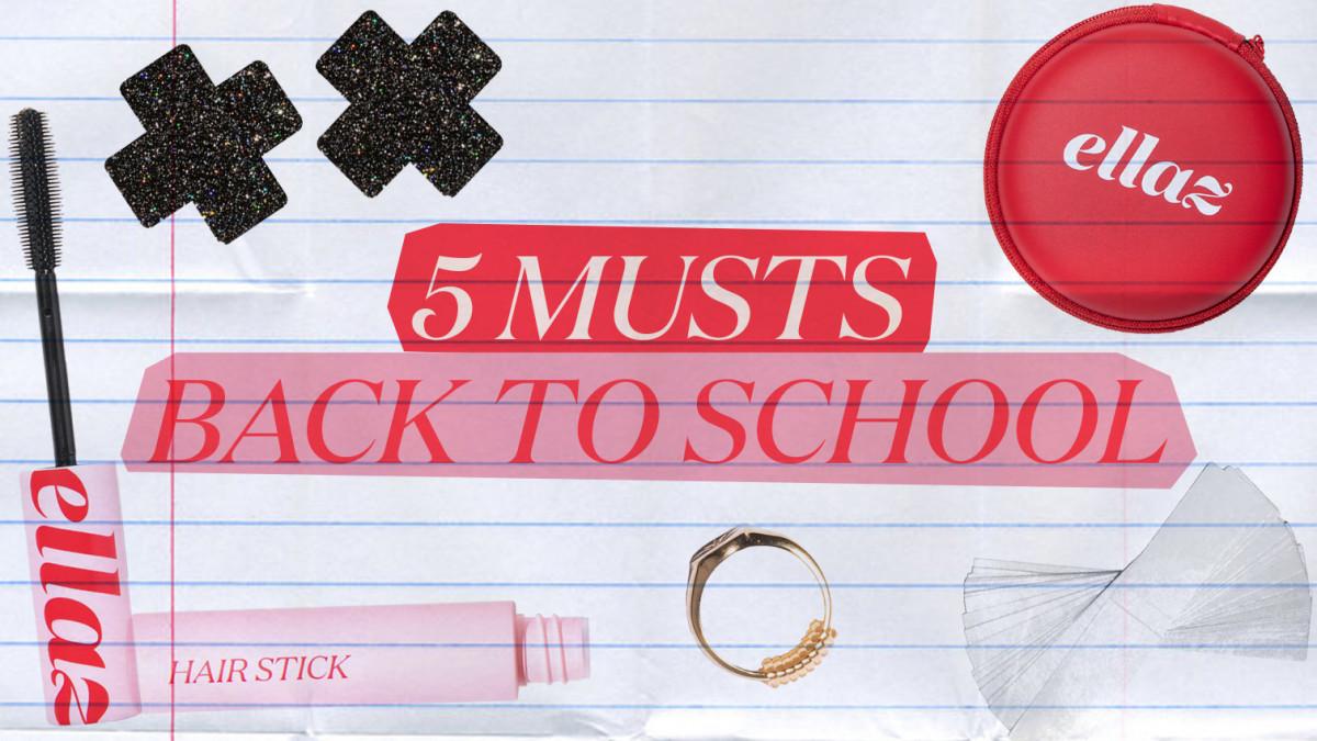 5 musts para tu back to school