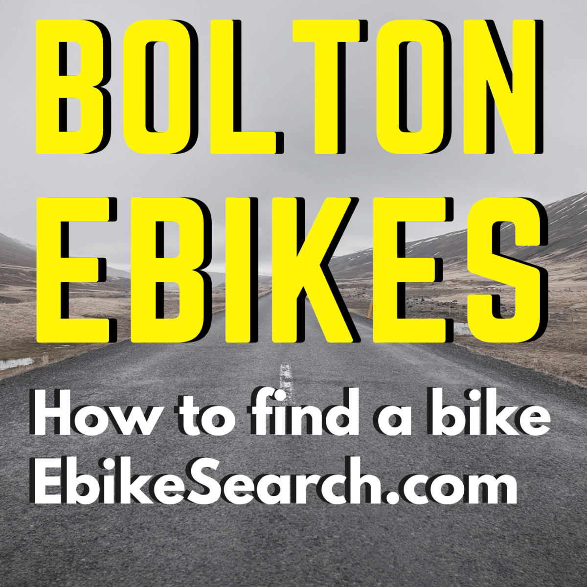 How to use Ebike Search as a buyer