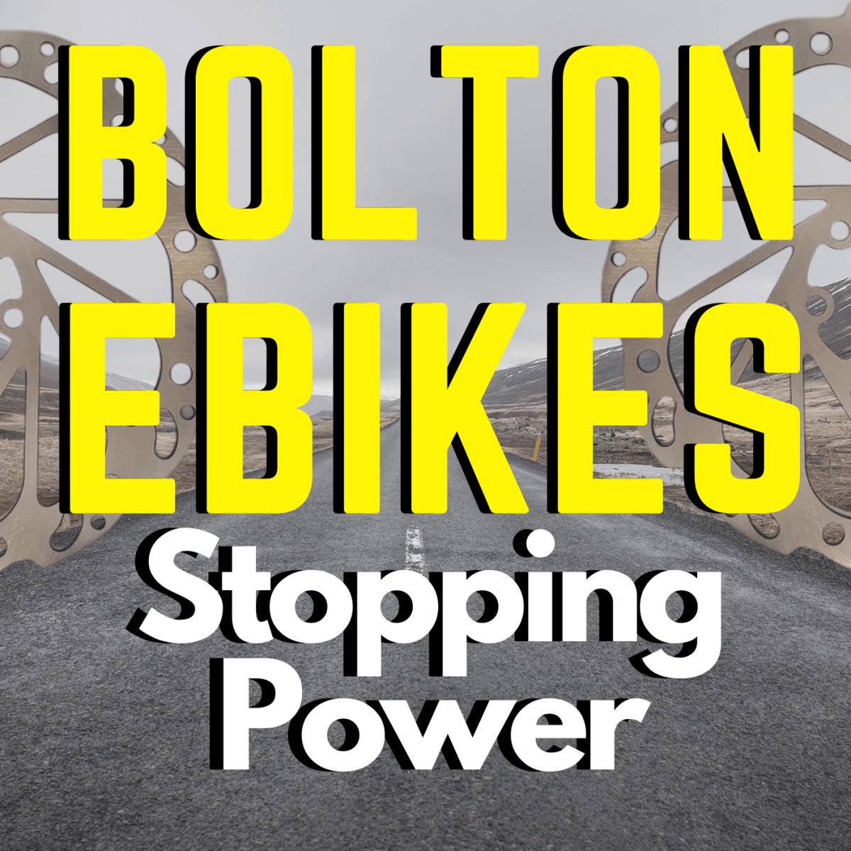 Ebike Brakes Explained