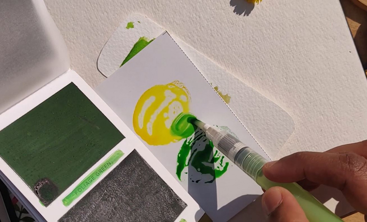 Viviva's Portable Color Palette