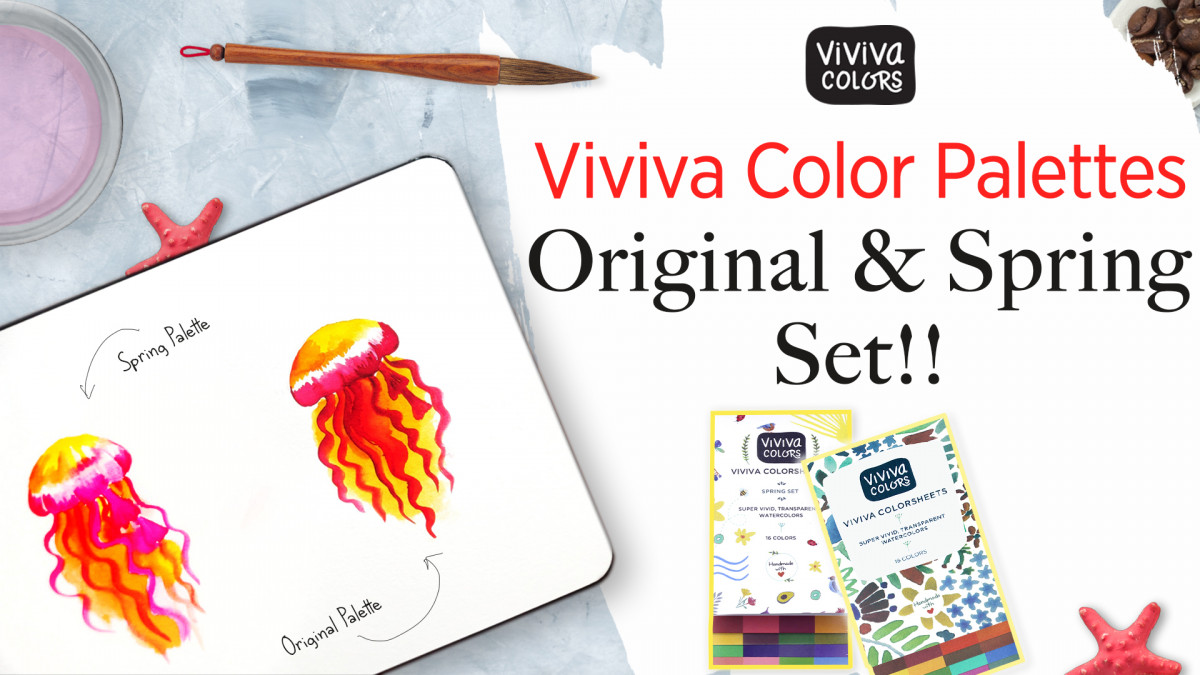 Viviva Colorsheets - Original & Spring Set!