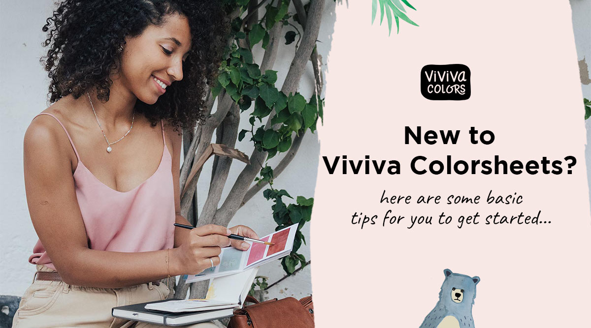 New to Viviva Colorsheets? We have you covered