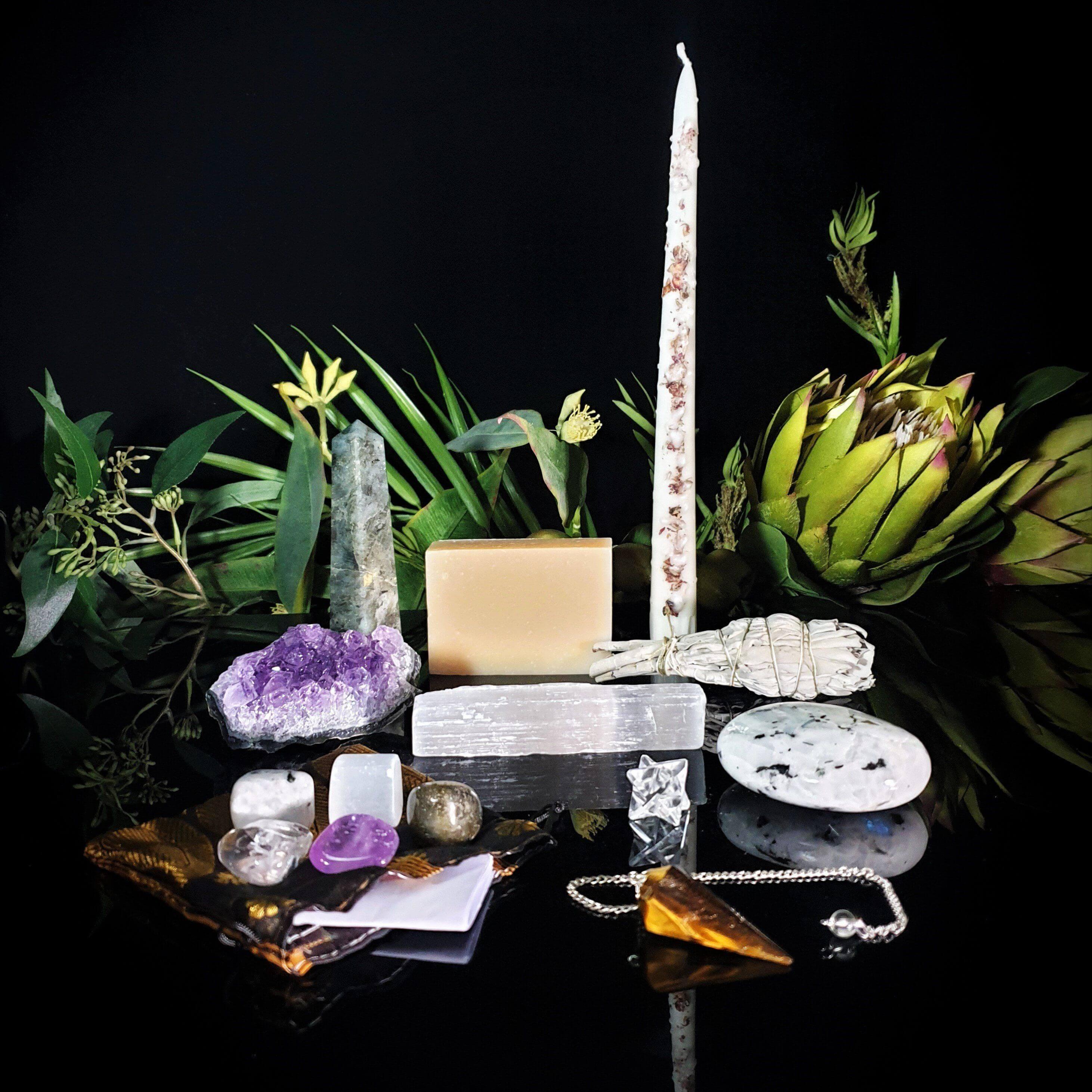 Full Moon Ritual Using Crystals