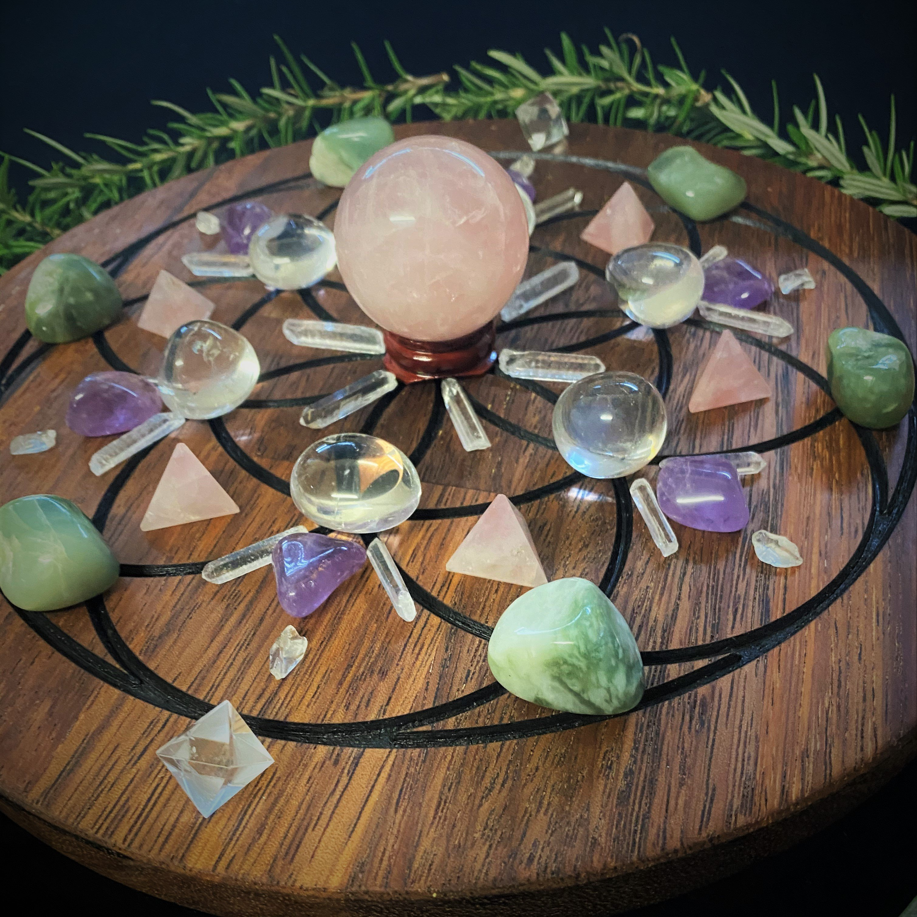 Intention Setting With Crystals