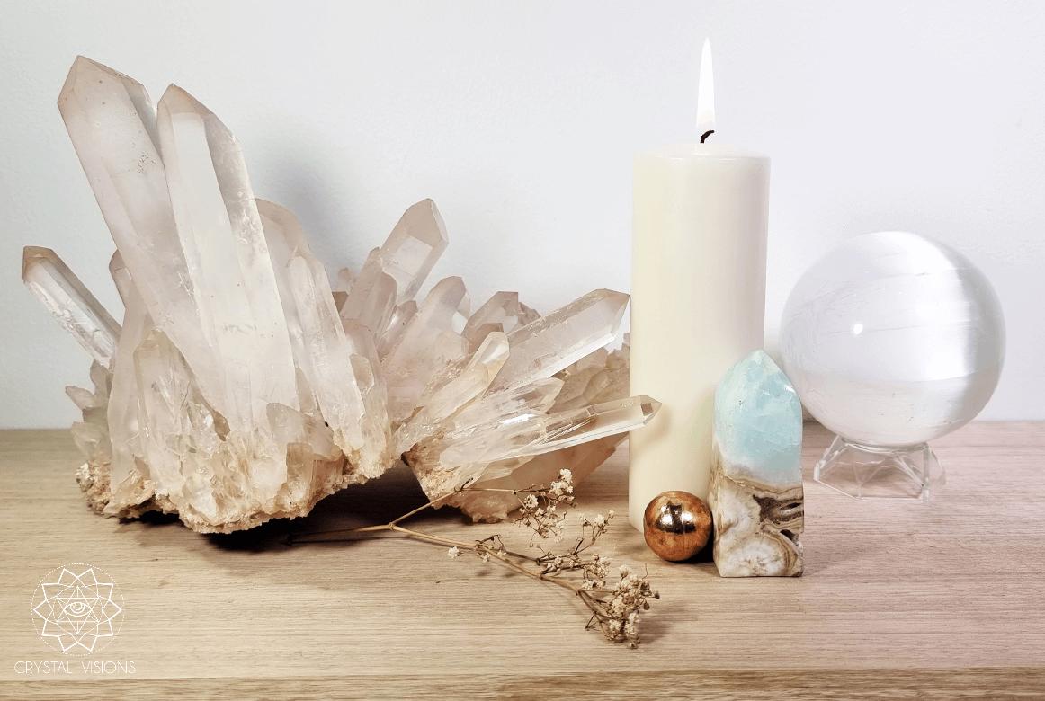 Crystals as High Vibe Decor