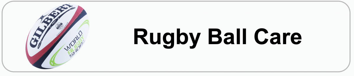 Rugby Ball Care