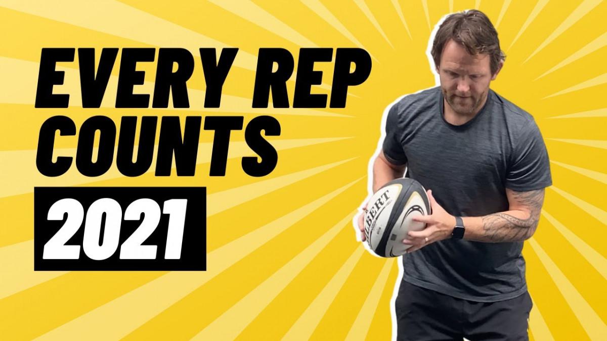 NO LAZY REPS! | @rugbybricks.