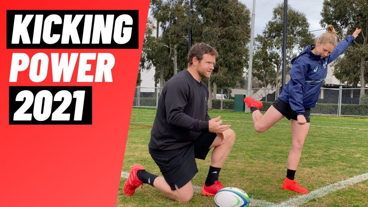 How To Generate More Kicking Power From Your Hips | @rugbybricks.