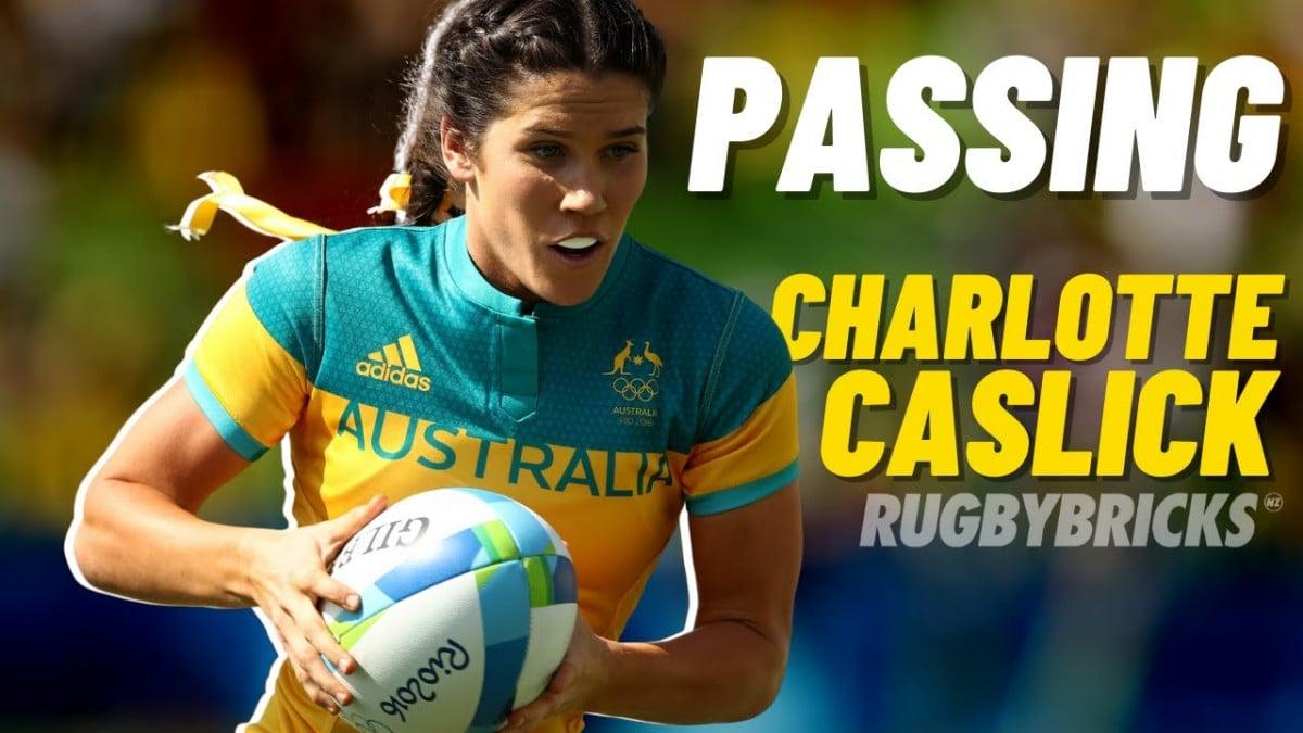 Charlotte Caslick | Passing Session @rugbybricks