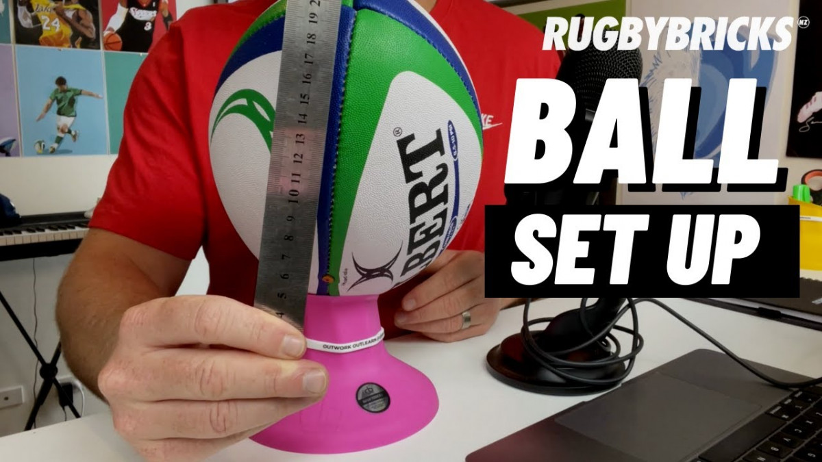 Ball Set Up | @rugbybricks. How to Set Your Ball Up