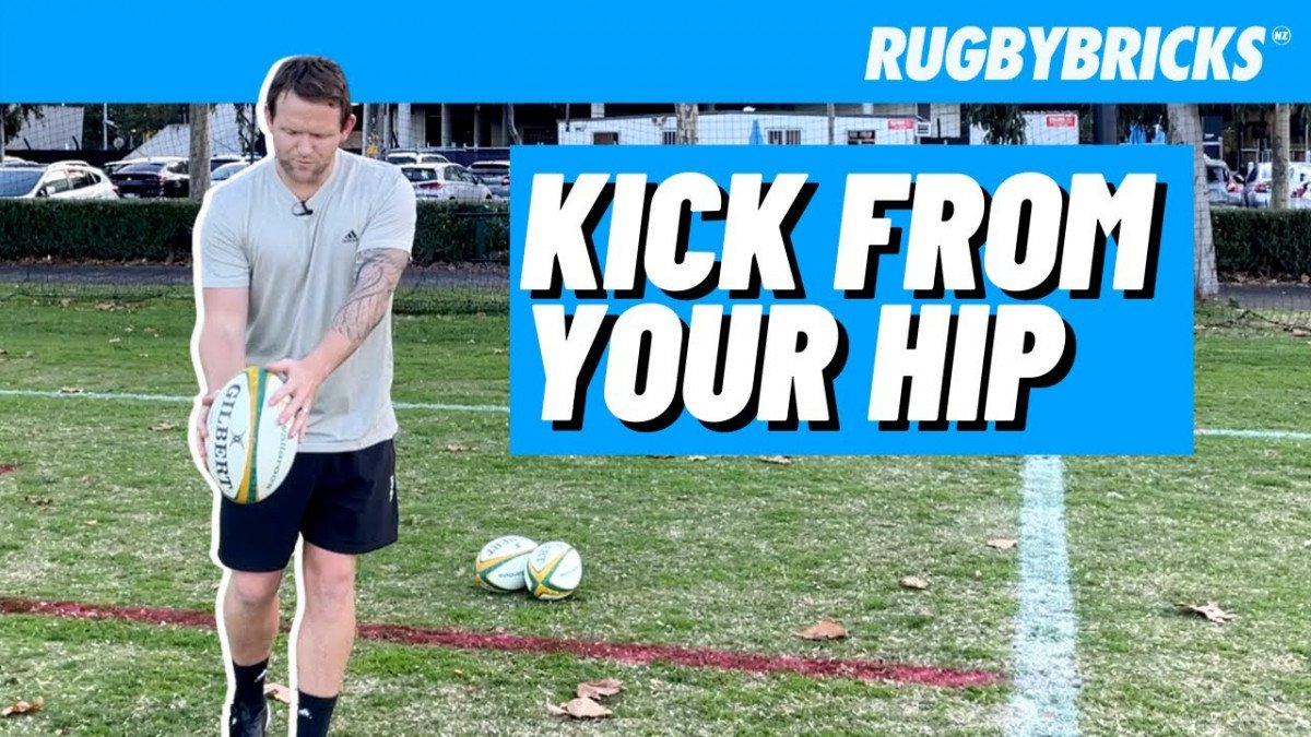 Kick From Your Hip | @rugbybricks.