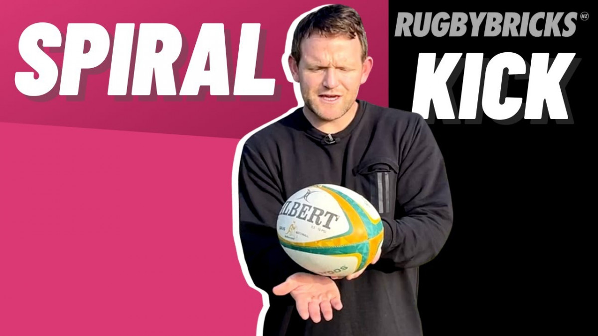 How to Spiral Kick | @rugbybricks.