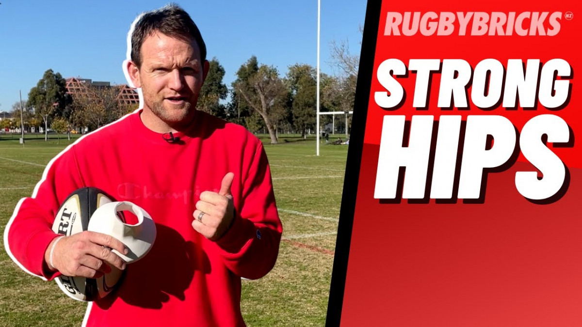 Keep Your Hips Strong | @rugbybricks Kicking