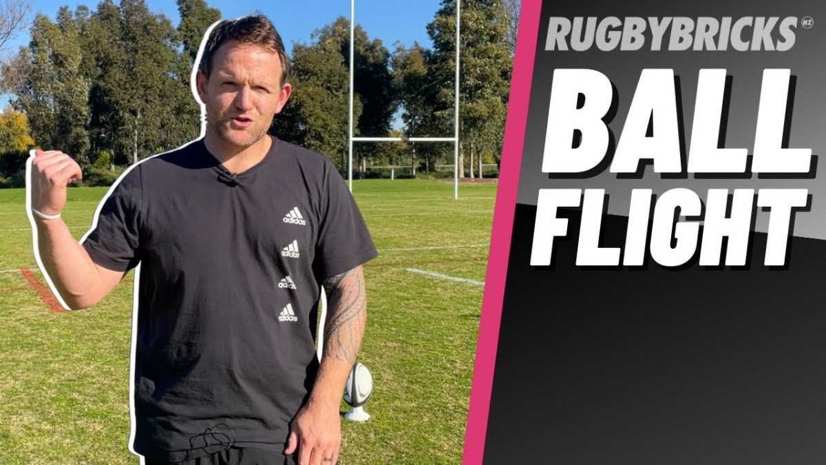 Rugby Goal Kicking | @rugbybricks Ball Flight