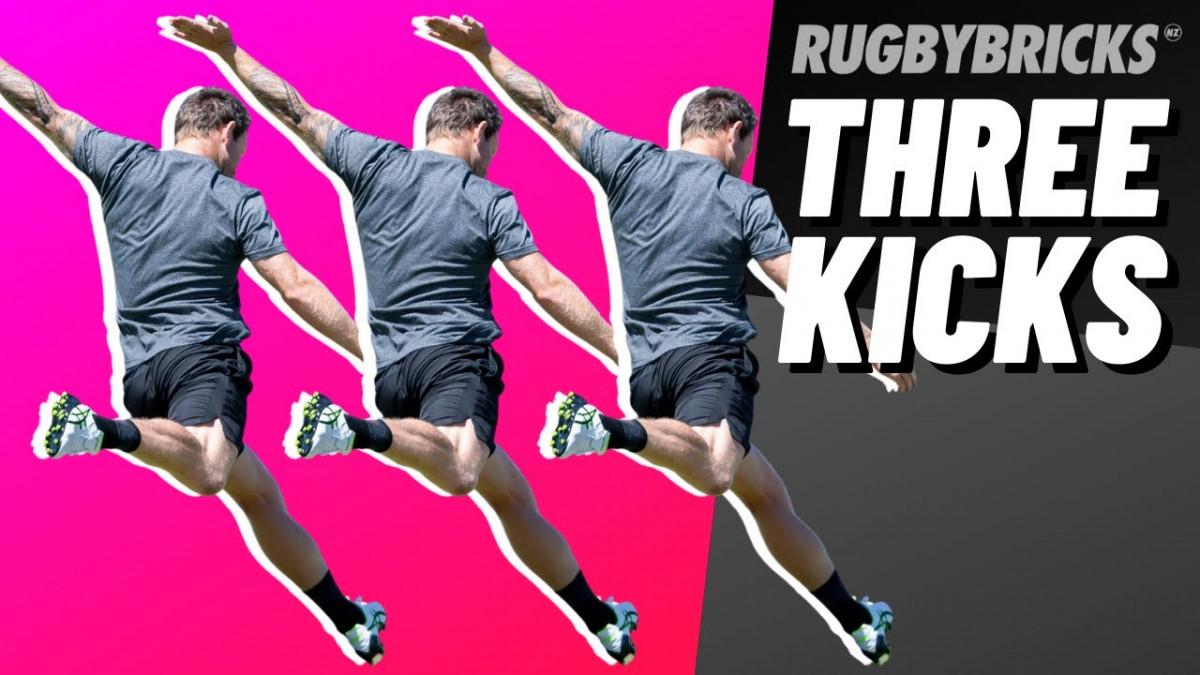Rugby Kicking | @rugbybricks Drop, Punt, Goal Kick