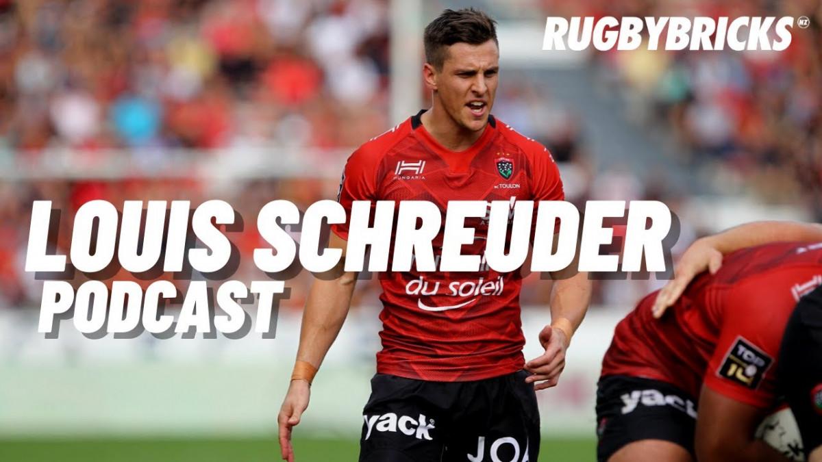 Louis Schreuder | @rugbybricks Podcast