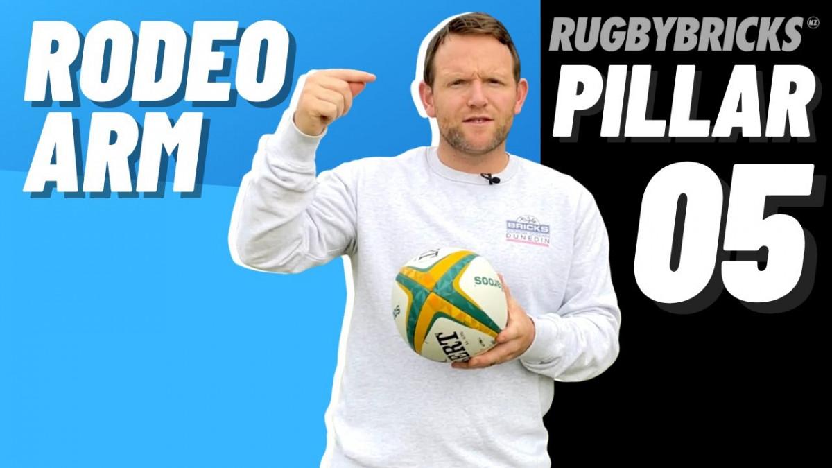 Rodeo Arm | @rugbybricks | 10 Pillars of Goal Kicking 05 Rodeo Arm
