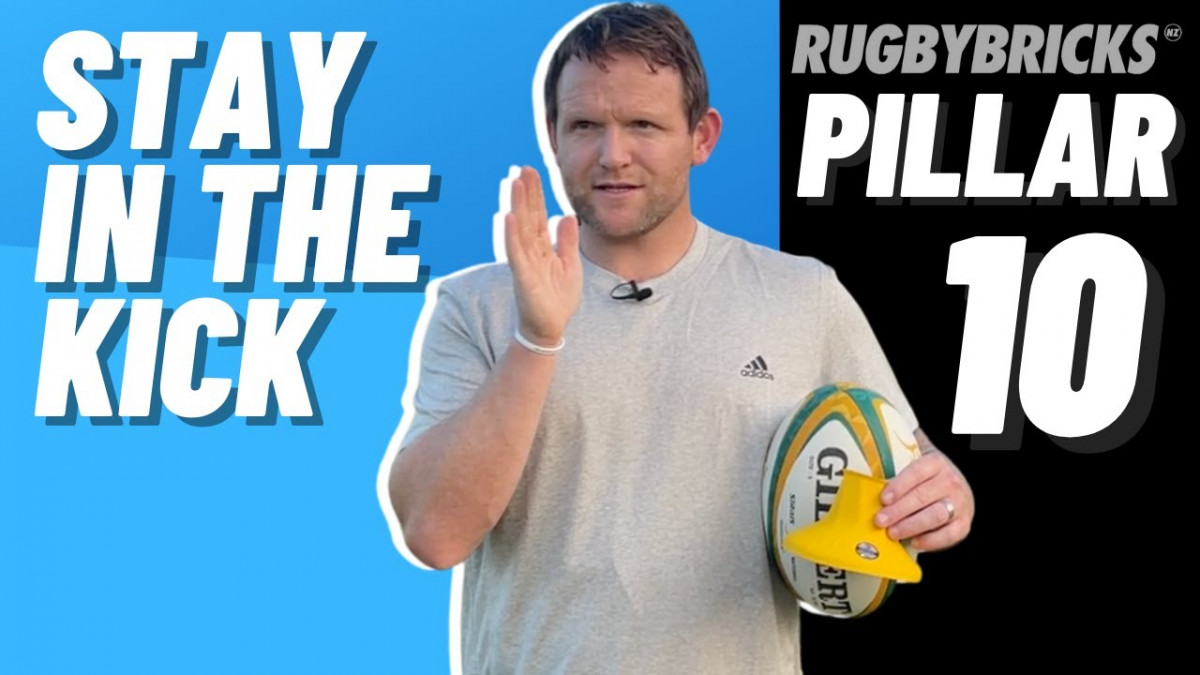 Stay In The Kick | @rugbybricks | 10 Pillars Of Goal Kicking