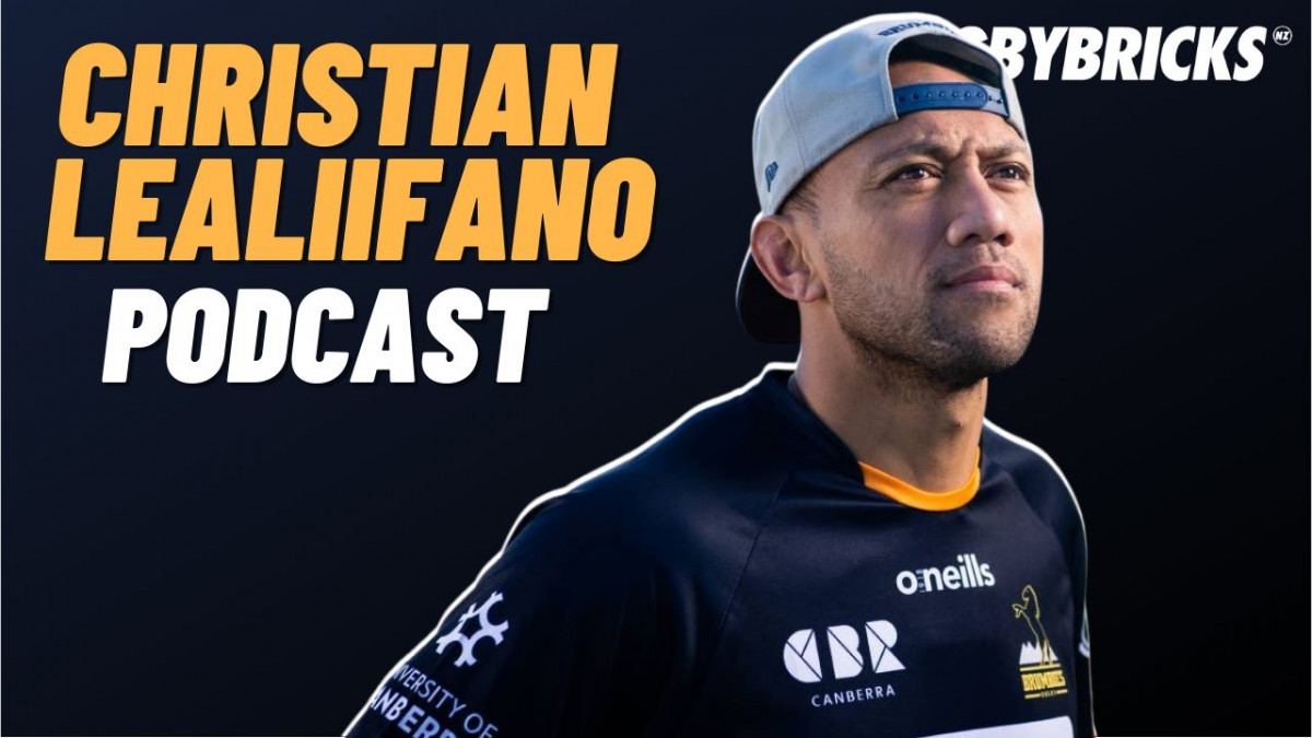 Christian Leali'ifano | @rugbybricks Podcast | Game Driving