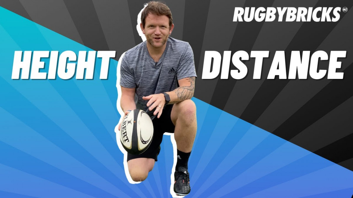 Rugby Drop Kick | @rugbybricks | Height vs Distance