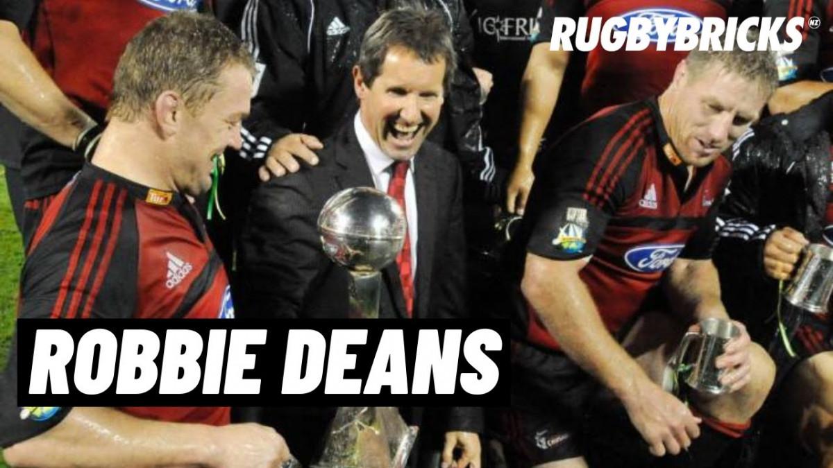 Robbie Deans | @rugbybricks | Crusaders Rugby