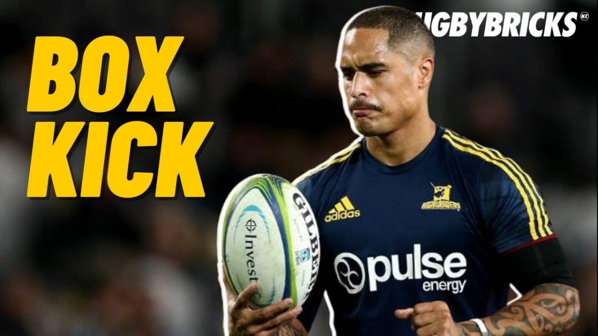 Box Kicking Master Class | Aaron Smith @rugbybricks