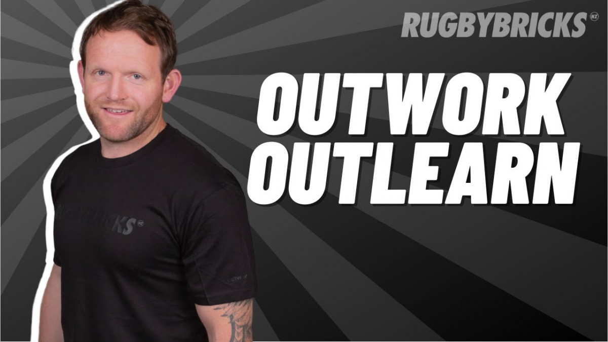 Outwork Outlearn | @rugbybricks | Kicking Story