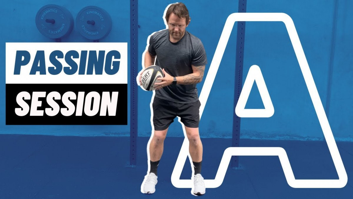 FREE Rugby Passing Session A | @rugbybricks